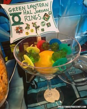 Green Lante3rn Rings