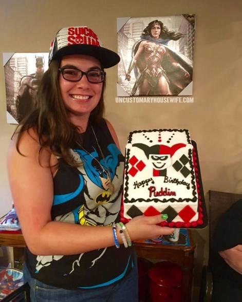 Harley Quinn Cake 2