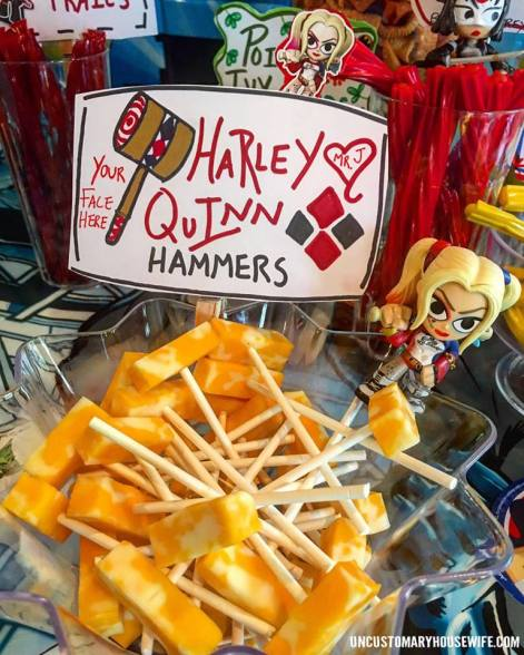 Harley Quinn Hammers