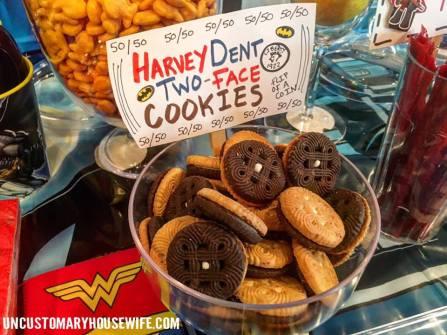 Harvey Dent TwoFace Cookies