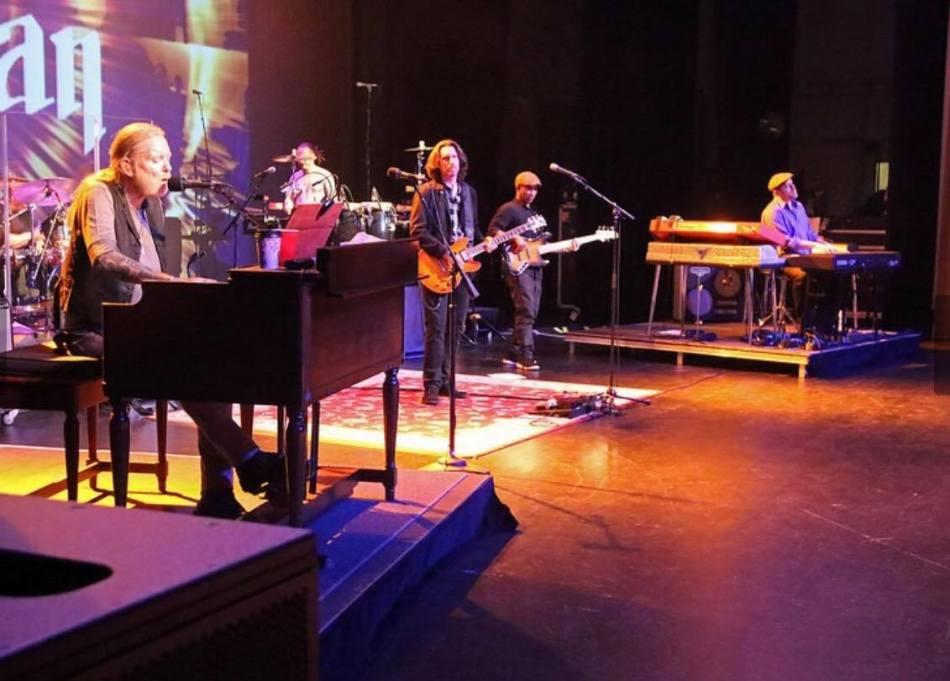 Gregg Allman Norton Center Photo