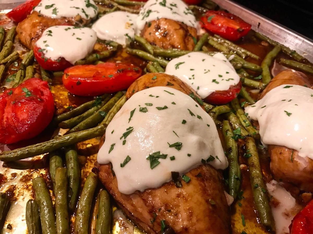 Italian Chicken Sheet Pan Supper a Pioneer Woman Recipe