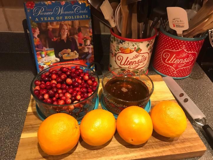 Ingredients Cranberry Sauce