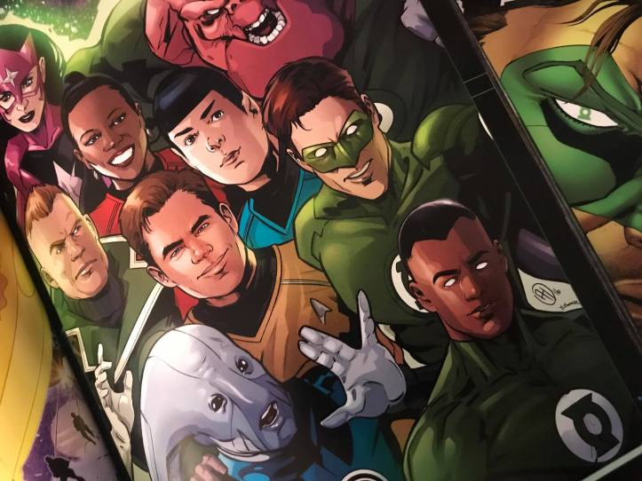 Star Trek Green Lantern